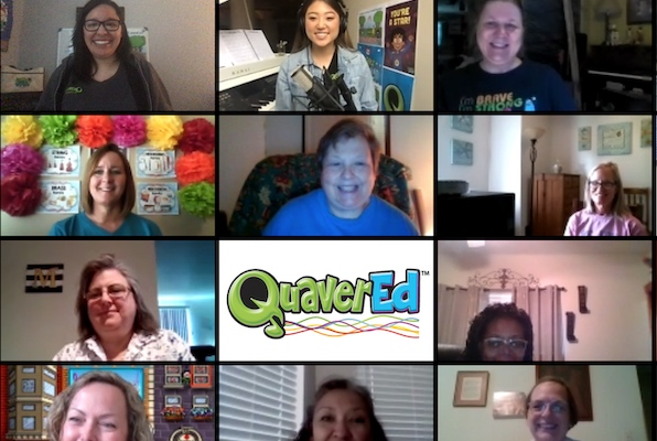 Join our Quaver Training Team for professional development webinars, demos and more!