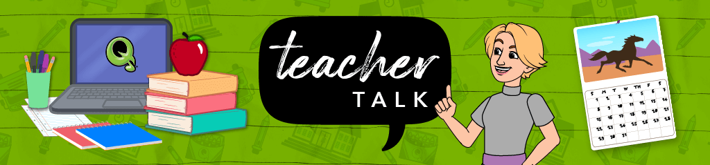 Teacher Talk blog banner link