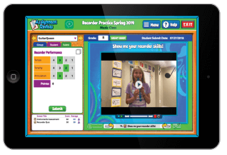 Teacher and Student Record Screens