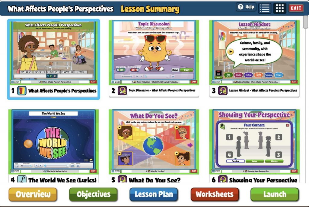Lesson Summary Screen Quaver SEL
