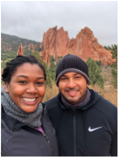 Importance of getting away - Natasha Olivier and husband in Colorado!