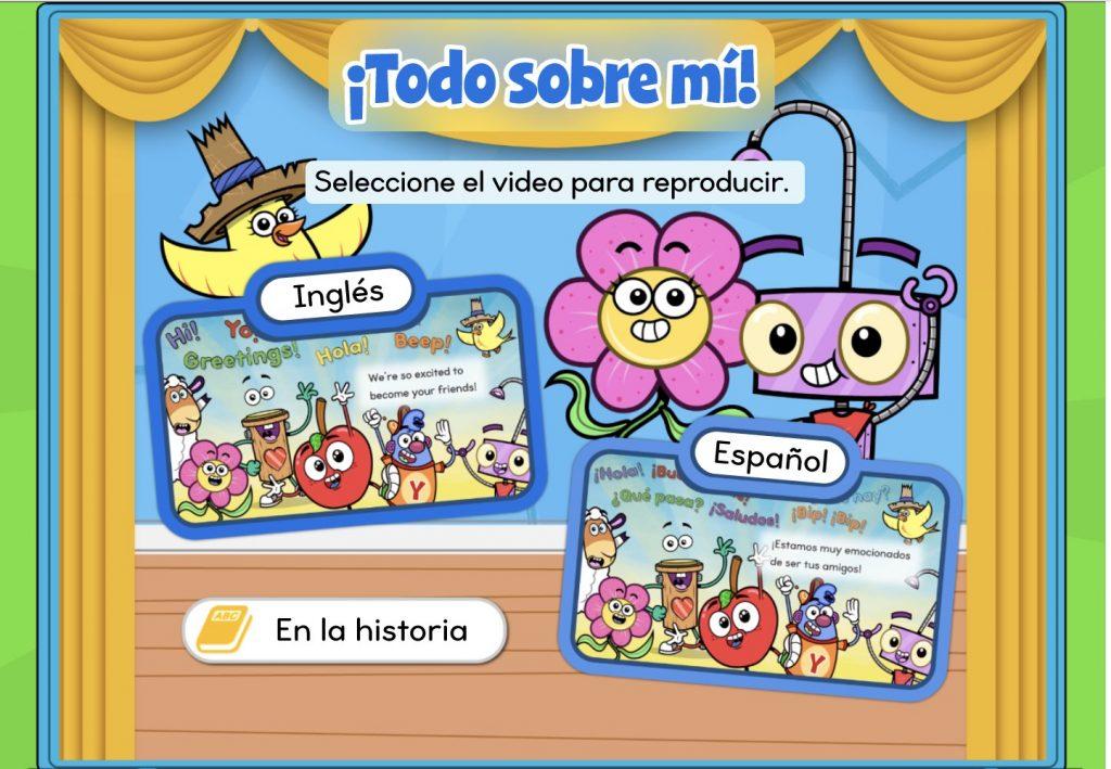 Digital Storybook in Spanish