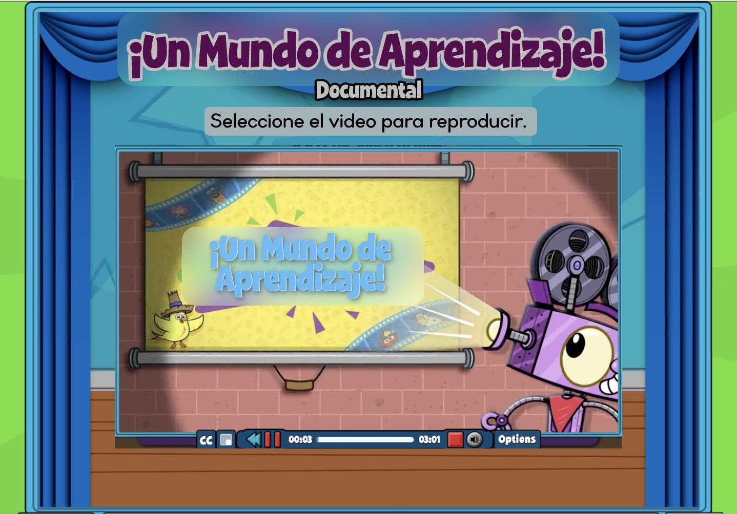 Spanish Video Content Pre-K