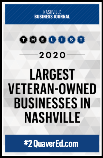 2020 Largest Veteran-Owned Businesses in Nashville Logo