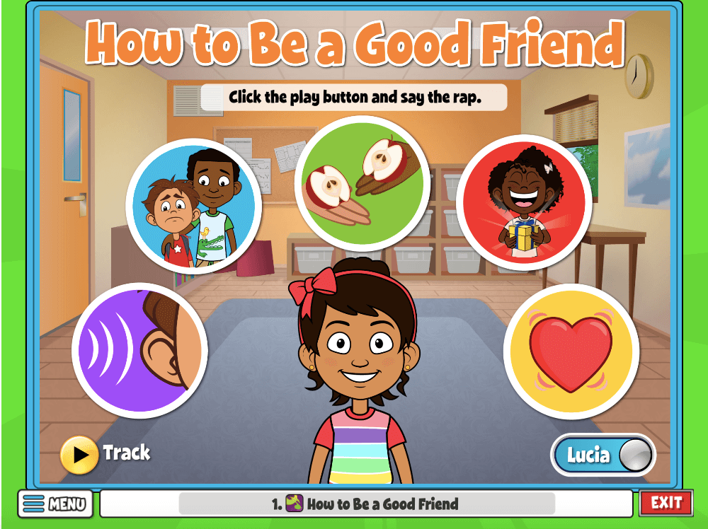 In this activity, students will learn how to be a good friend.