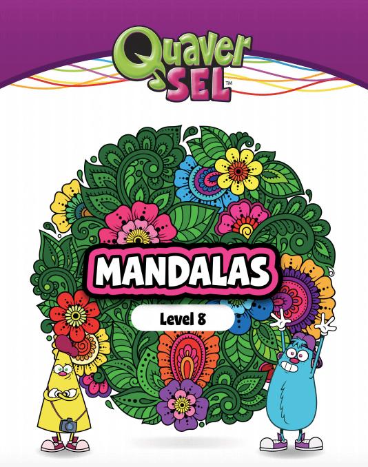 Cover image of the Quaver SEL Mandala Level 8