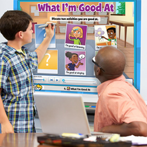 5-minute meetings encourage  teachers & student to meet and reflect on students progress on the school year so far!