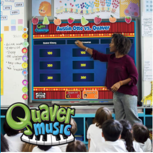 Quaver Music Logo and Tile