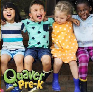 Quaver Pre-K Logo and Tile