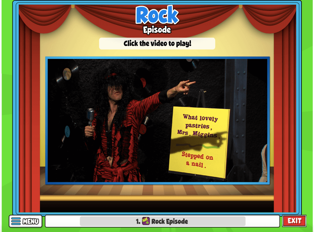 Watch Quaver's Rock episode found in your Resource Manager!